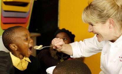Margot Janse, chef del prestigioso restaurante surafricano Le Quartier Français.