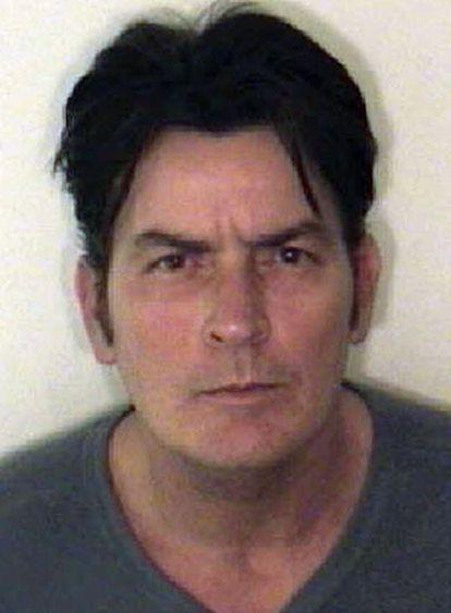 Fotografia policial tomada este viernes tras el arresto del actor.