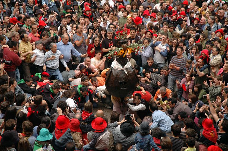 Una de las jornadas de la Patum de Berga (Barcelona).