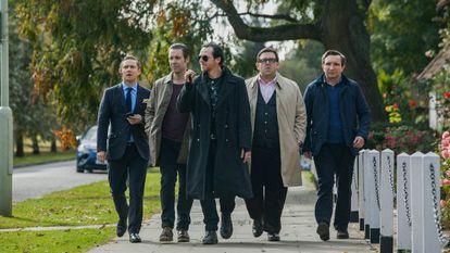 Protagonistas de 'Bienvenidos al fin del mundo'.