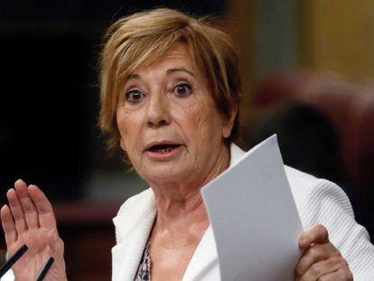 La presidenta del Pacto de Toledo, Celia Villalobos. En vídeo, las declaraciones de Villalobos