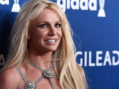 La cantante Britney Spears en una gala de premios celebrada en California en abril de 2018.