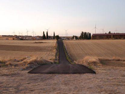 Vista de Barruelo del Valle, en Valladolid.
