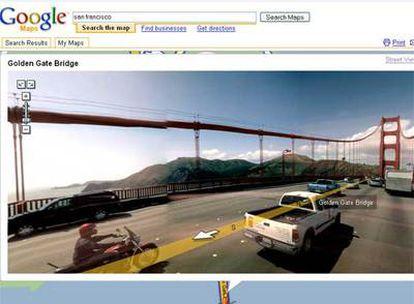 La nueva función de Google Maps permite darse paseos por las calles de las principales ciudades de Estados Unidos.