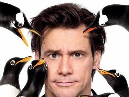 Cartel de Los pingüinos del Sr. Poper