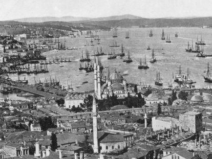 Constantinopla y el Bósforo, a finales del siglo XIX.