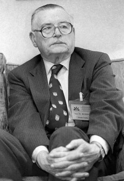James M. Buchanan, Nobel de Economía en 1986.