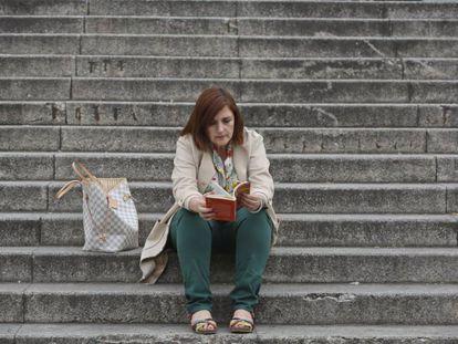 Cristina Cuesta, escritora.