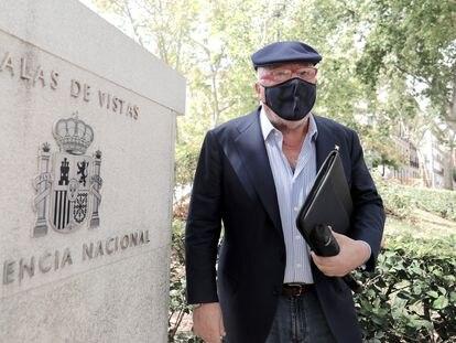 El comisario jubilado José Manuel Villarejo, a su salida de la Audiencia Nacional el pasado miércoles.