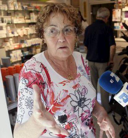 María Jesús Sagasti, farmaceútica que ha ayudado a la mujer.