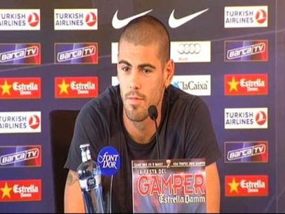Valdés niega que se sientan presionados por la llegada de Mourinho al Madrid