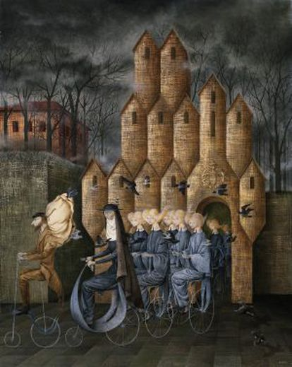 'Hacia la torre', de Remedios Varo