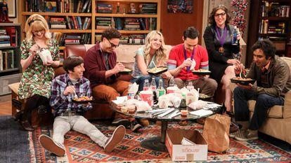 Fotograma del último capítulo de 'The Big Bang Theory'.