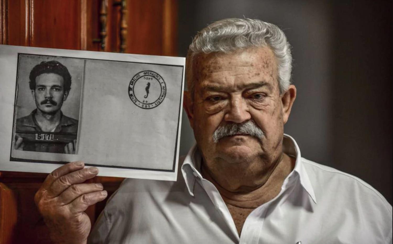 Lúcio Bellentani, que fue detenido durante la dictadura cuando trabajaba en Volkswagen, en una entrevista en 2017.