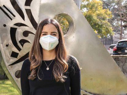 Natali Vega Magaña, investigadora de la Universidad de Guadalajara.