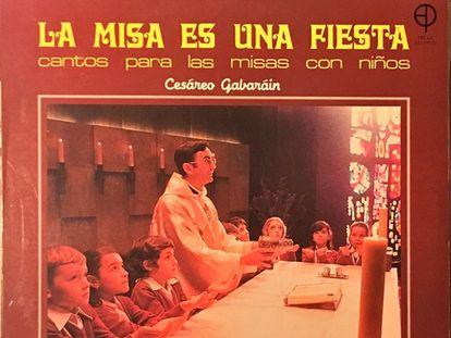 Portada de uno de los discos de Cesáreo Gabaráin, publicado en 1984.