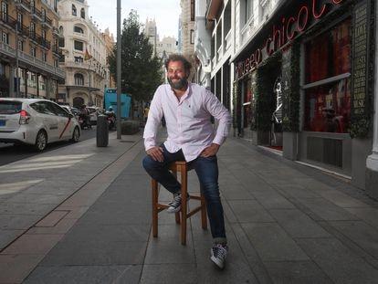 Iñaki Fernandez, productor del espectáculo musical The Hole, que volverá a los escenarios a finales de Septiembre.