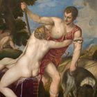 Cuadro del Museo del Prado 'Venus y Adonis' de Tiziano