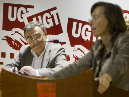 El alcalde de Lleida, Àngel Ros, y la exconsejera Montserrat Tura en un acto reciente.
