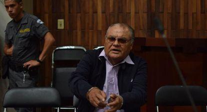 Pedro García Arredondo, exjefe policial.