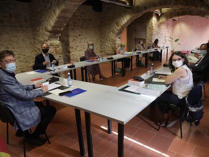 Seminario del Consell de 2021 en Albocàsser y Benassal.