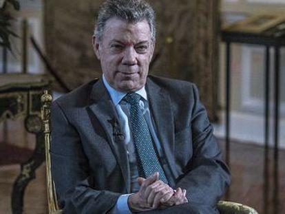 El presidente colombiano habla de los retos del país y defiende su legado a dos semanas de las elecciones presidenciales