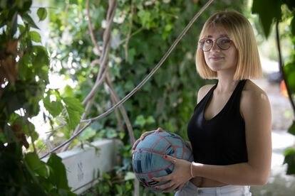 Ana Montero ha conseguido una beca para estudiar en EE UU gracias al baloncesto.