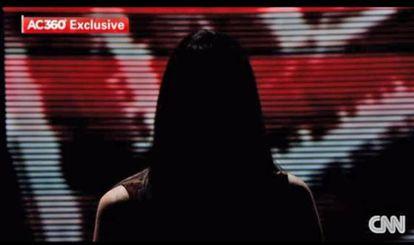 Captura de pantalla de la entrevista a la jurado en CNN.