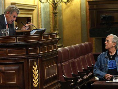 Jesús Posada, presidente del Congreso, expulsa al diputado de Amaiur, Sabino Cuadra.