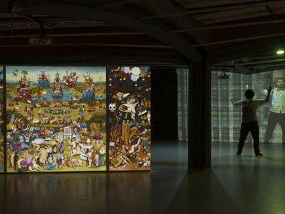 La exposición en São Paulo, Brasil.
