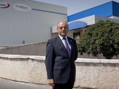 Federico García, director-gerente de Helados Alacant.