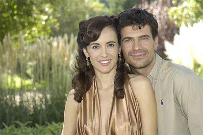 Ana Turpin y Rodolfo Sancho, el día de la presentación de la serie.