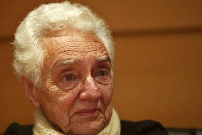 La matemática María Wonenburger Planells, en una imagen tomada en A Coruña en 2007.