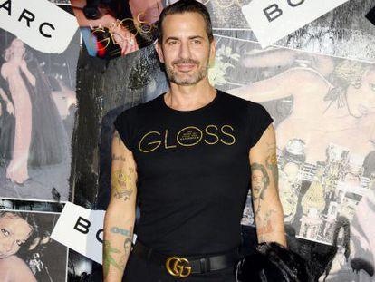 El diseñador Marc Jacobs, en una fiesta para celebrar el lanzamiento de su libro 'Gloss: The Work of Chris von Wangenheim', el pasado septiembre.