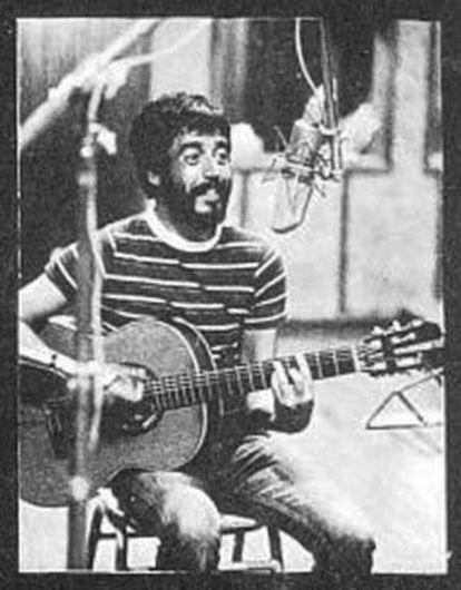 El músico uruguayo Eduardo Mateo.