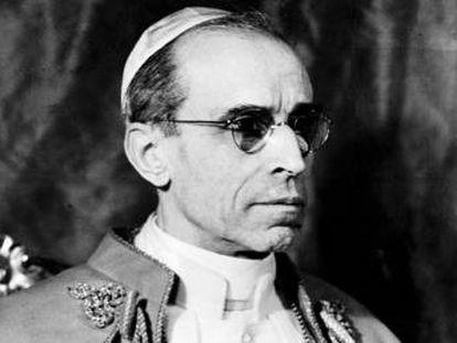Pío XII, en el Vaticano el 5 de febrero de 1946.