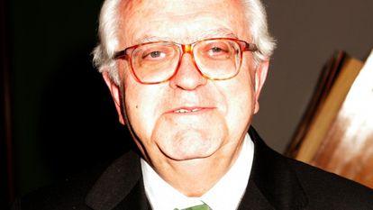 El filólogo y académico Gregorio Salvador.