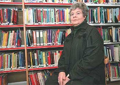 La escritora inglesa A. S. Byatt, en el British Council de Madrid.