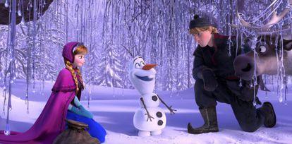 Un fotograma de 'Frozen'.