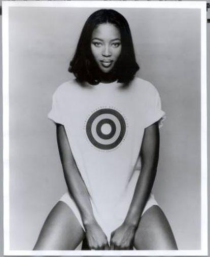 Naomi Campbell, fotografiada en 1996 por Patrick Demarchelier.