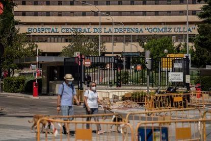 El Hospital Gómez Ulla de Madrid, que no respondió al paciente, este mes de septiembre.