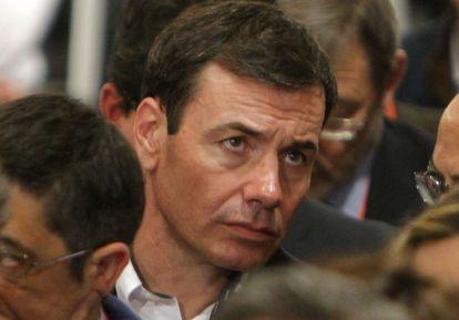 Tomás Gómez, en el congreso federal del PSOE.