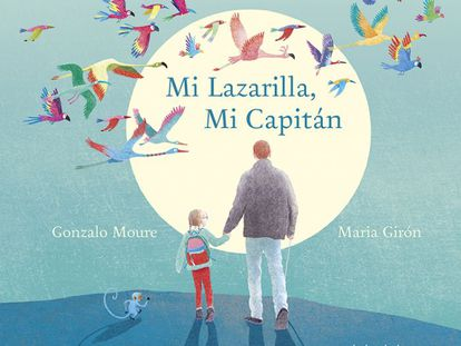 Portada de 'Mi Lazarilla, Mi Capitán' (Kalandraka).