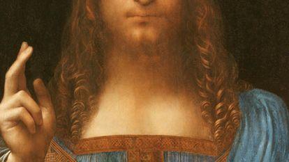<i>Salvator Mundi,</i> el Cristo de Leonardo recientemente atribuido.