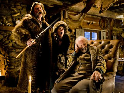 Fotograma de 'Los odiosos ocho', de Quentin Tarantino.