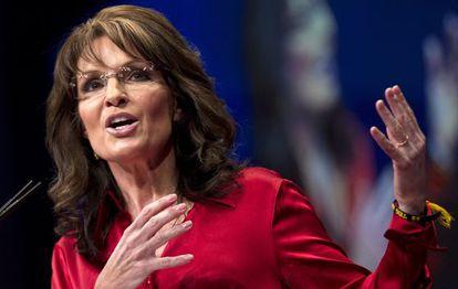 La candidata republicana a la vicepresidencia en 2008, Sarah Palin.