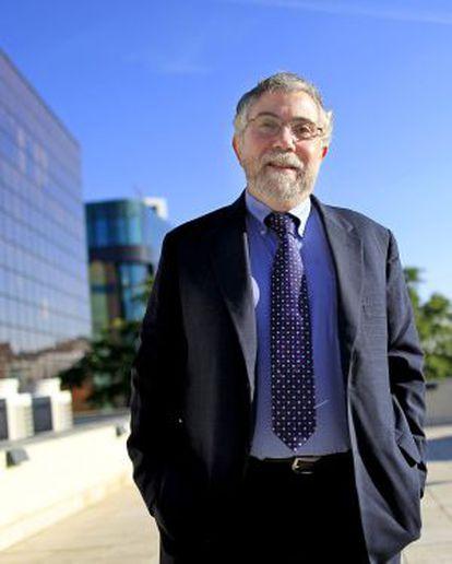 Paul Krugman, premio Nobel de Economía 2008.