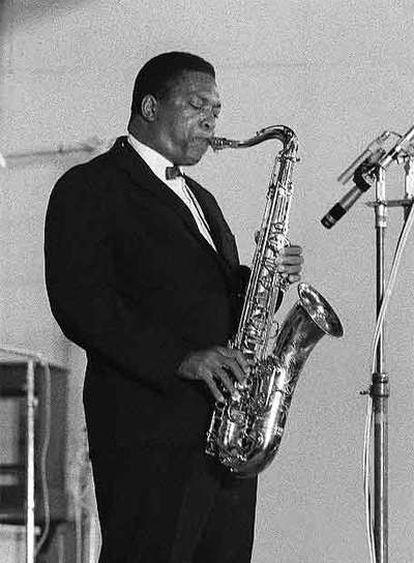 El músico John Coltrane.