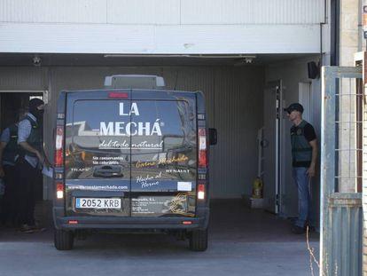 Furgoneta de La Mechá.