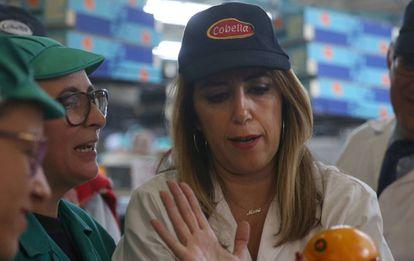 Susana Díaz, candidata del PSOE a la presidencia de Andalucía